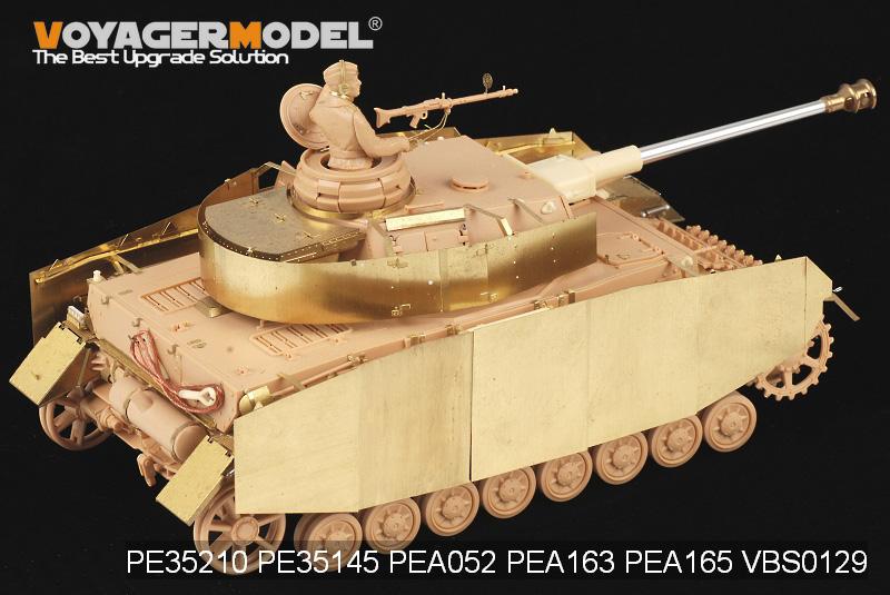 German Tank Panzerkampfwagen IV PzKpfw IV Ausf.H PE for 1//35 Tamiya 35209